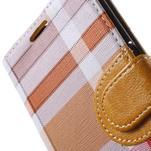 Módní stylové pouzdri na Samsung Galaxy S6 - oranžové - 7/7