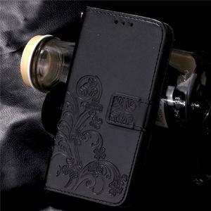 Buttefly PU kožené pouzdro na mobil Honor 7 Lite  - černé - 7