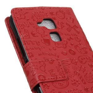 Cartoo pouzdro na mobil Honor 7 Lite - červené - 7