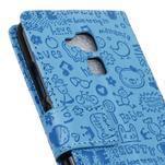 Cartoo pouzdro na mobil Honor 7 Lite - modré - 7/7