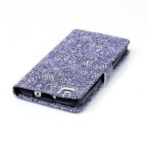 Pouzdro na mobil Huawei P8 Lite - textury květin - 7