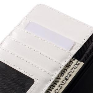 Peněženkové pouzdro na mobil Huawei P9 Lite - modrozelené/bílé - 7