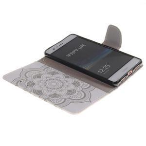 Lethy knížkové pouzdro na telefon Huawei P9 Lite - mandala - 7