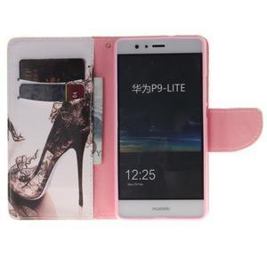 Lethy knížkové pouzdro na telefon Huawei P9 Lite - pekelný střevíček - 7