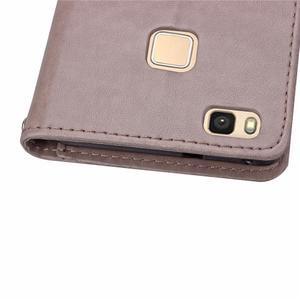 Cloverleaf peněženkové pouzdro na Huawei P9 Lite - šedé - 7