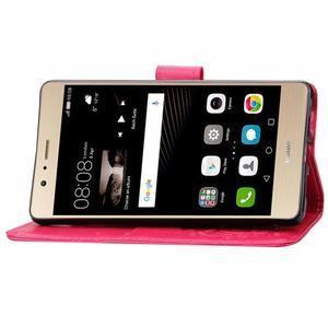 Cloverleaf peněženkové pouzdro na Huawei P9 Lite - rose - 7
