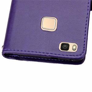 Cloverleaf peněženkové pouzdro na Huawei P9 Lite - fialové - 7