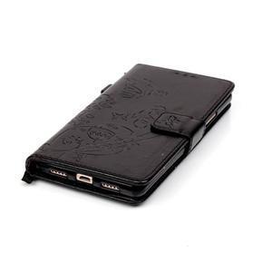 Magicfly knížkové pouzdro na telefon Huawei P9 Lite - černé - 7