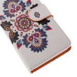 Zapínací peněženkové pouzdro na Huawei Y635 - folk - 7/7