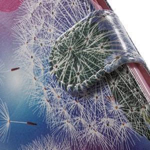 Emotive peněženkové pouzdro na mobil Lenovo A6000 - pampelišky - 7