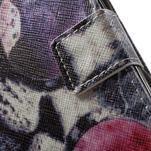 Emotive peněženkové pouzdro na mobil Lenovo A6000 - cool kočka - 7/7