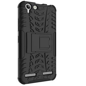 Outdoor odolný obal na mobil Lenovo Vibe K5 / K5 Plus - černý - 7