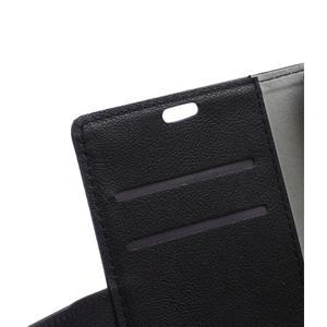 Peněženkové pouzdro na Lenovo Vibe K5 / K5 Plus - černé - 7