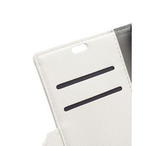 Peněženkové pouzdro na Lenovo Vibe K5 / K5 Plus - bílé - 7