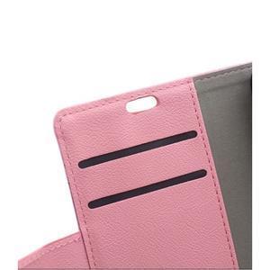 Peněženkové pouzdro na Lenovo Vibe K5 / K5 Plus - růžové - 7