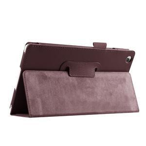 Dvoupolohové pouzdro na tablet Lenovo Tab 2 A8-50 - hnědé - 7