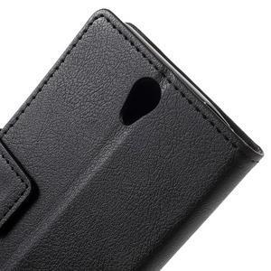 Peněženkové pouzdro na mobil Lenovo Vibe S1 - černé - 7