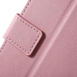 Peněženkové pouzdro na mobil Lenovo Vibe S1 - růžové - 7