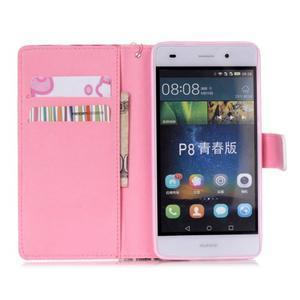 Peněženkové pouzdro Huawei Ascend P8 Lite - motýlci - 7