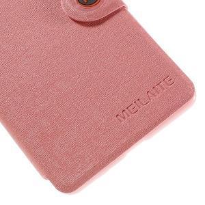 Solid pouzdro na mobil Microsoft Lumia 535 - růžové - 7