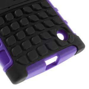 Outdoor odolný kryt na Nokia Lumia 730/735 - fialový - 7