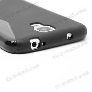S-line gelový obal na Samsung Galaxy S4 - černý - 7