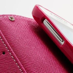 Fancy peněženkové pouzdro na Samsung Galaxy S4 - žluté - 7