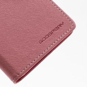 Fancy peněženkové pouzdro na Samsung Galaxy S4 -  růžové - 7