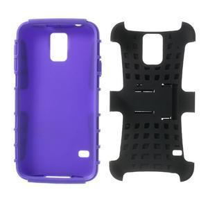 Outdoor odolný kryt na mobil Samsung Galaxy S5 - fialový - 7