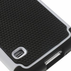 Odolný obal 2v1 na mobil Samsung Galaxy S5 - bílý - 7