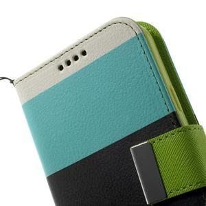 Colory PU kožené pouzdro na mobil Samsung Galaxy S5 - variant III - 7