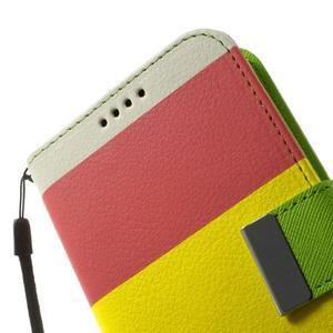 Colory PU kožené pouzdro na mobil Samsung Galaxy S5 - variant I - 7