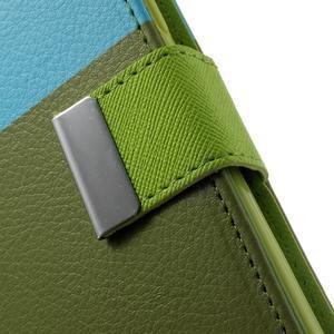 Colory PU kožené pouzdro na mobil Samsung Galaxy S5 - variant IV - 7