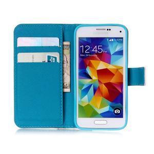 Stand peněženkové pouzdro na Samsung Galaxy S5 mini - love - 7