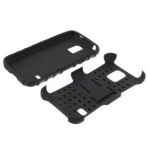 Outdoor odolný obal na mobil Samsung Galaxy S5 mini - černý - 7