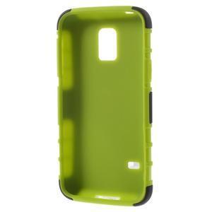 Outdoor odolný obal na mobil Samsung Galaxy S5 mini - zelený - 7