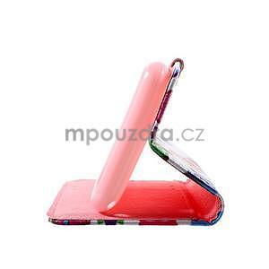 Peněženkové pouzdro na Sony Xperia E4g - sovičky - 7