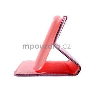Peněženkové pouzdro na Sony Xperia E4g - kvetoucí větvička - 7