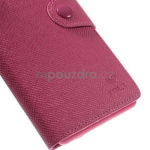 Rose peněženkové pouzdro na Sony Xperia Z3 - 7