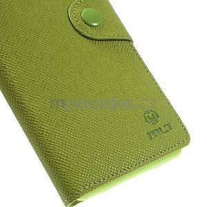 Zelené peněženkové pouzdro na Sony Xperia Z3 - 7