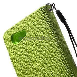 Zelené peněženkové pouzdro na Sony Xperia Z3 Compact - 7