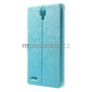 PU kožené pouzdro na Xiaomi Hongmi Note - světle modré - 7