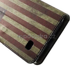 Peněženkové pouzdro na Huawei Ascend Y550 - USA vlajka - 7