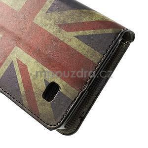 Peněženkové pouzdro na Huawei Ascend Y550 - UK vlajka - 7