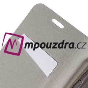 Horse PU kožené pouzdro na mobil Huawei Y5 II - černé - 7
