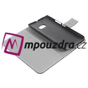 Horse PU kožené pouzdro na mobil Huawei Y5 II - bílé - 7