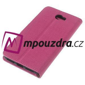 Clothy peněženkové pouzdro na Huawei Y5 II - rose - 7