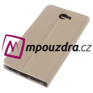 Clothy peněženkové pouzdro na Huawei Y5 II - zlaté - 7