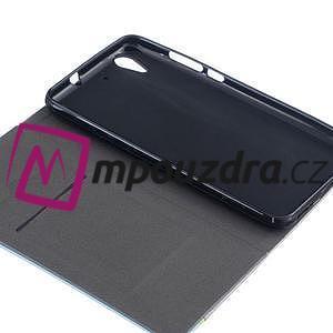 Klopové pouzdro na mobil Huawei Y6 II a Honor 5A - tmavěmodré - 7