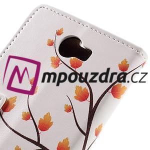 Emotive peněženkové pouzdro na Huawei Y6 II Compact - podzimní strom - 7